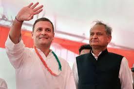 राहुल से मुलाकात से पहले CM गहलोत के ट्वीट के सियासी मायने ?